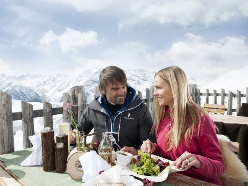 Bergrestaurants am Spieljoch